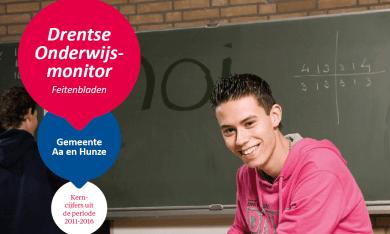 Feitenblad Drentse Onderwijsmonitor 2016 gemeente Aa en Hunze