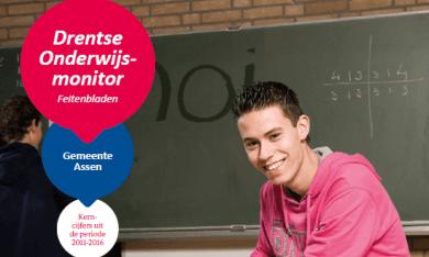Feitenblad Drentse Onderwijsmonitor 2016 gemeente Assen