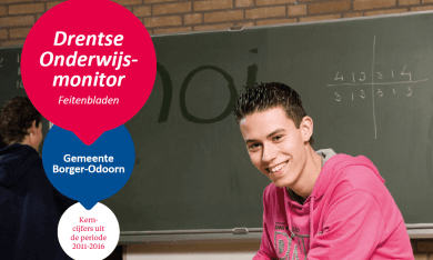Feitenblad Drentse Onderwijsmonitor 2016 gemeente Borger-Odoorn