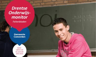 Feitenblad Drentse Onderwijsmonitor 2016 gemeente Coevorden