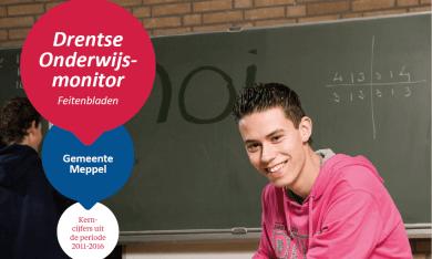 Feitenblad Drentse Onderwijsmonitor 2016 gemeente Meppel