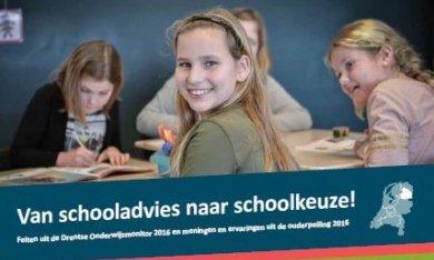 Feitenblad Van schooladvies naar schoolkeuze 2016