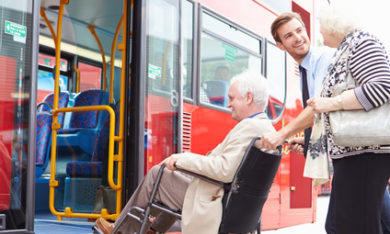 Mobility of the elderly through ICT support