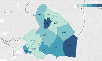 Nieuwe armoedecijfers: ontwikkeling in Drenthe niet zo gunstig