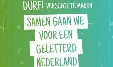We gaan voor een geletterd Nederland!
